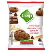 Cookie light de chocolate com gotas de chocolate Taeq 40g