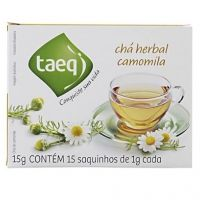 Chá herbal de camomila Taeq 15g
