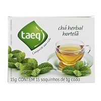 Chá herbal de hortelã Taeq 15g