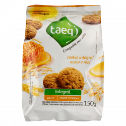 Cookie Integral Aveia e Mel Light Taeq Pacote 150g